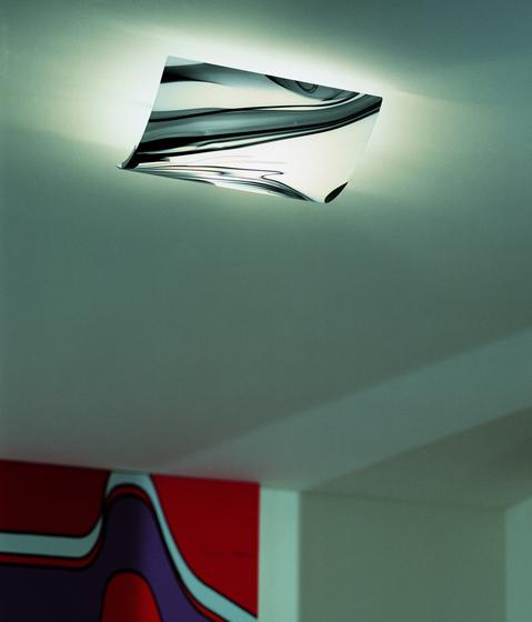 White & Black - ceiling lamp von A.V. Mazzega