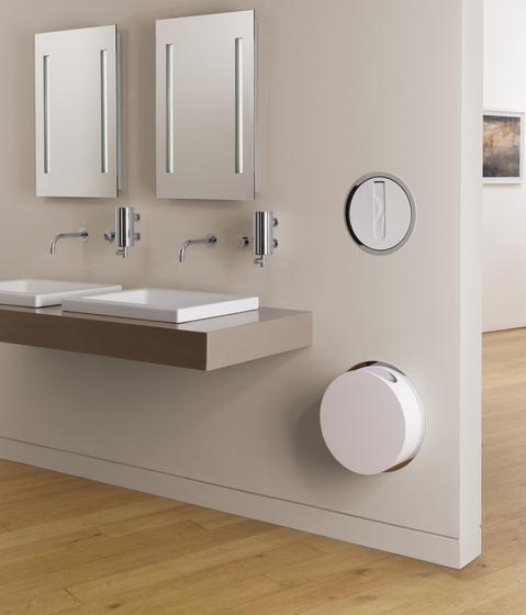 RS2 Built-in tissue dispenser by VOLA
