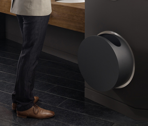 RS1 Built-in waste bin by VOLA