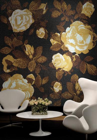 Springrose Nero B mosaic de Bisazza