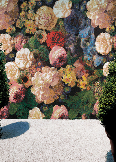 Bouquet A mosaic by Bisazza