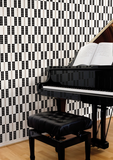 Alternance Grise Mosaic by Bisazza