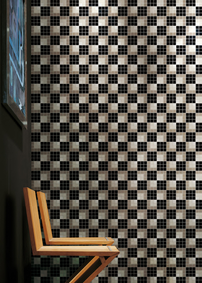 Vibration Grise Mosaic by Bisazza