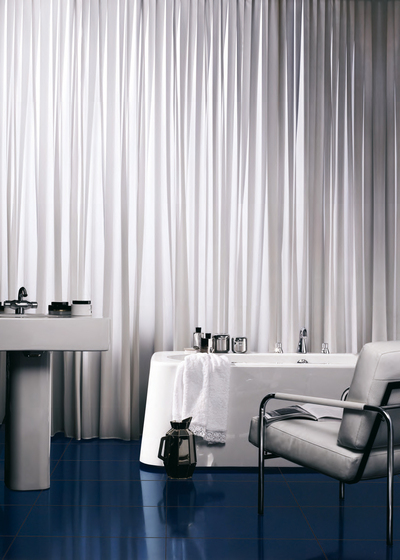 Codex Ghiaccio (09) glass tile by Bisazza