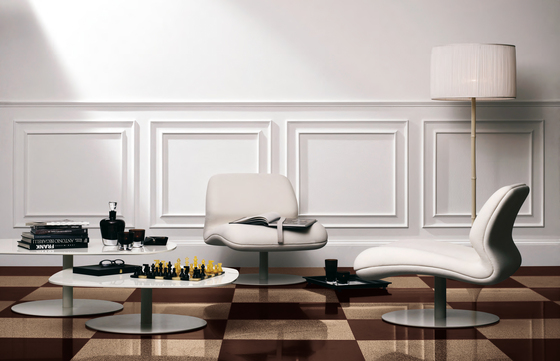Codex Marrone (17) glass tile di Bisazza