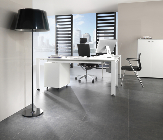 Avenue White Texture by Porcelanosa