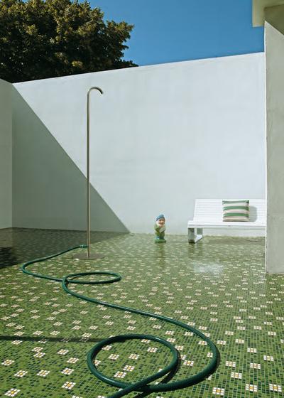 Pratoline 3 mosaic by Bisazza