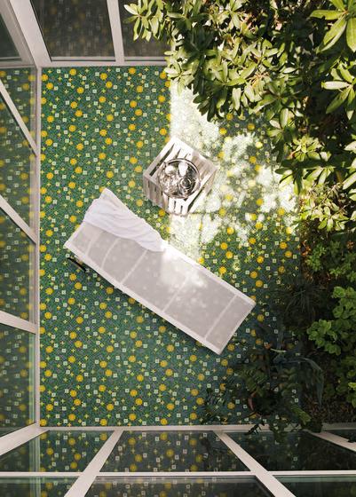 Primule 2 mosaic by Bisazza