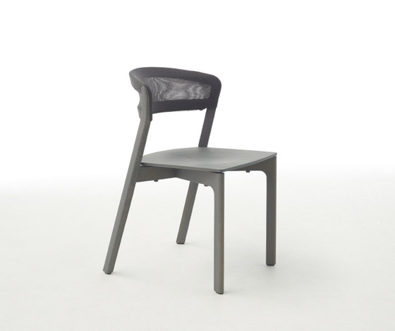 Cafe chair white di Arco