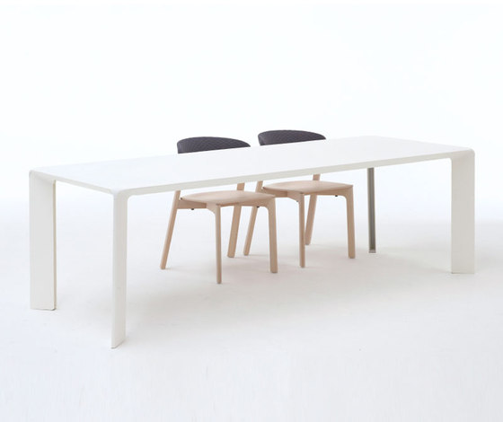 Cafe chair white by Arco