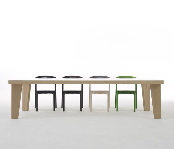 Fat Tisch Eschenholz von Arco