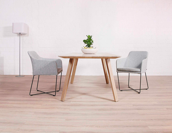 Maverick Plus stackable chair by KFF
