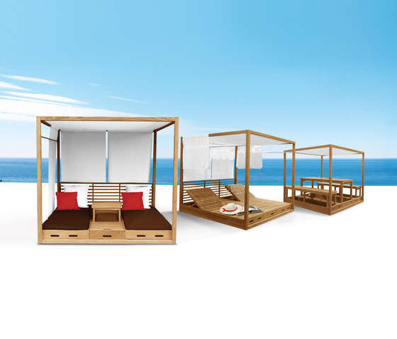 Summer Cabana Bed de Deesawat