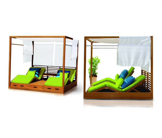Summer Cabana Bed by Deesawat