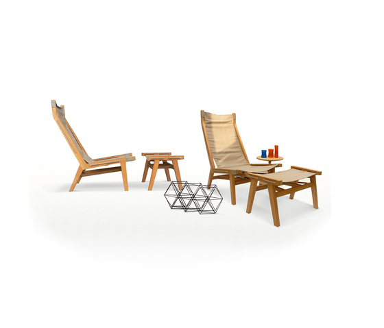 Tiera Outdoor Lounger de Deesawat