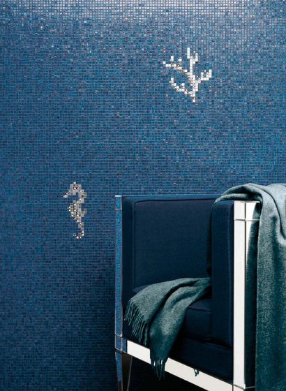 Corals & Seahorses White by Bisazza