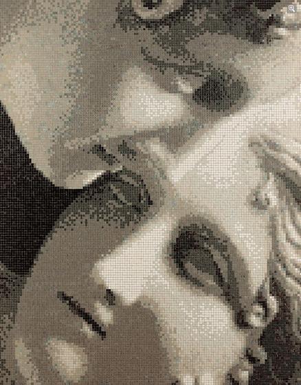 Le Grazie mosaic panel de Bisazza