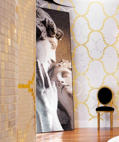 Venere e Adone mosaic panel de Bisazza