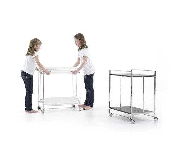 Flat Trolley table by Yomei