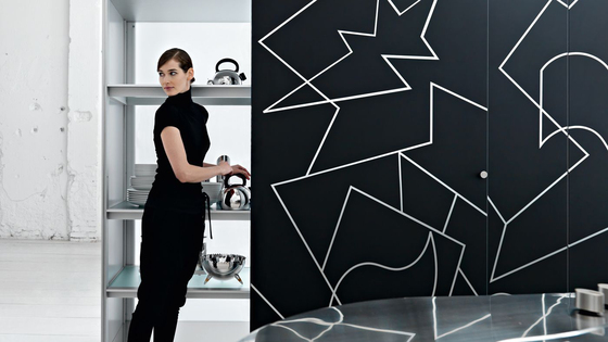 Artematica Curva | Stainless Steel by Valcucine