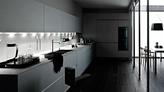 Riciclantica alluminio verniciato naturale di valcucine for Cerco cucine componibili nuove in offerta