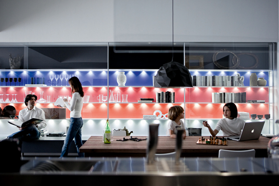 Living Collectus Wall panelling by Valcucine