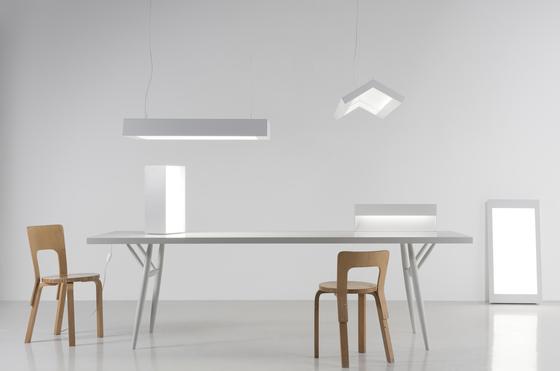 Suspended Light White 3 by Artek