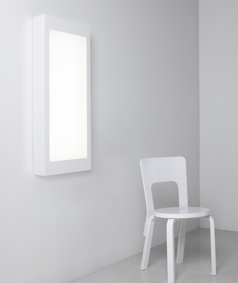 Standing and Wall Light White 2 by Artek