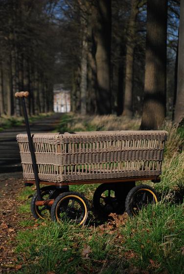 Wagon + Basket by TRADEWINDS