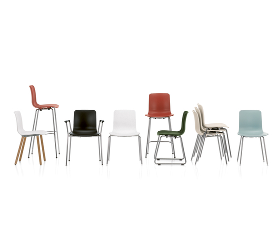HAL Ply Stool High di Vitra