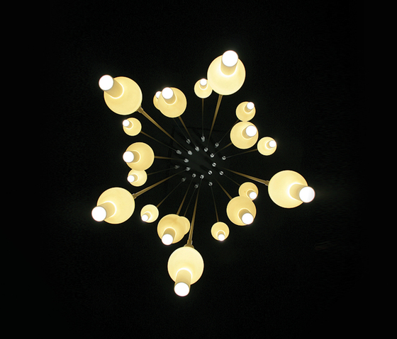 Trou ceiling lamp by Cordula Kafka