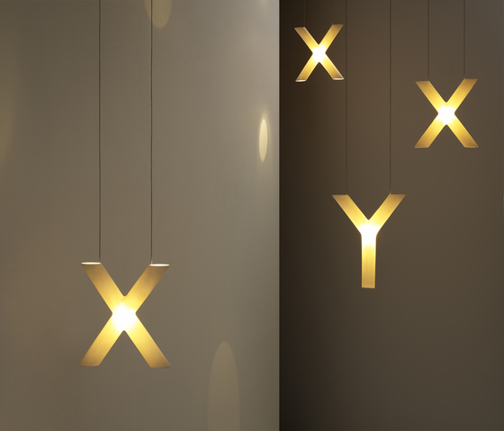 Xy table lamp by Cordula Kafka