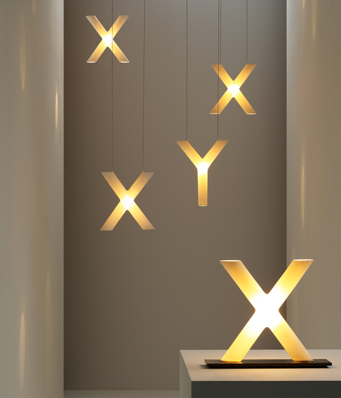 Xy table lamp de Cordula Kafka