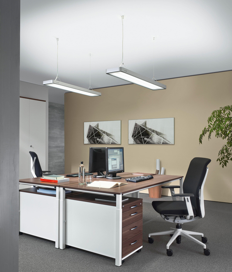 ATARO DUP 254 Suspended luminaire by H. Waldmann