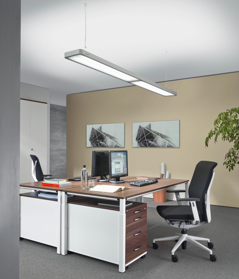 ATARO DUP 428 Suspended luminaire by H. Waldmann