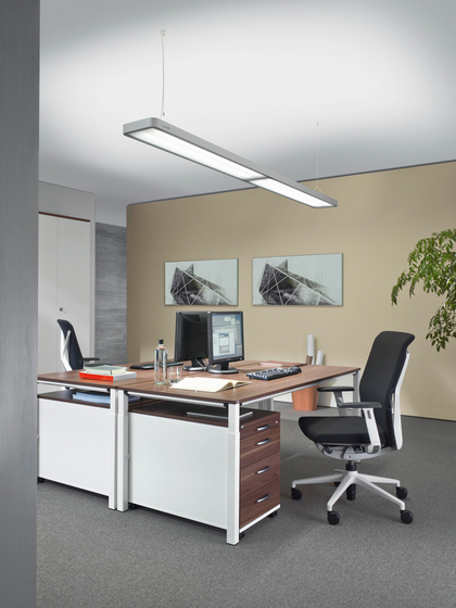 ATARO DUP 454 Suspended luminaire by H. Waldmann