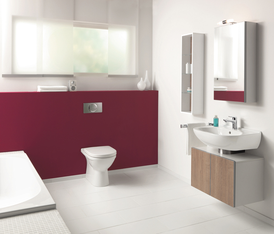 O.novo Washdown WC, rimless by Villeroy & Boch