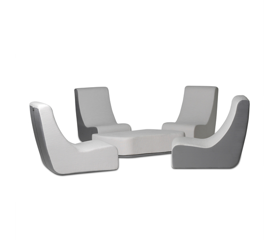 Puzzle Lounge Chair by EGO Paris