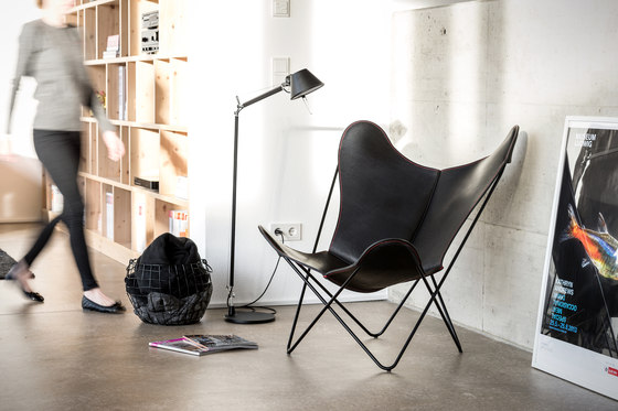 Hardoy | Butterfly Chair | Organic Buffalo Leather de Manufakturplus
