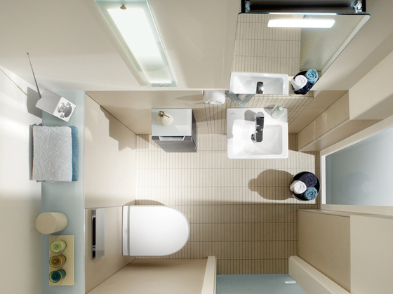 Subway 2.0 Washdown WC compact by Villeroy & Boch