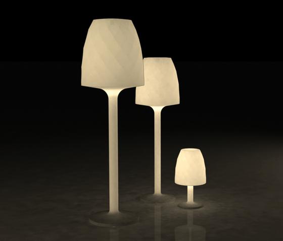 Vases lampara de Vondom