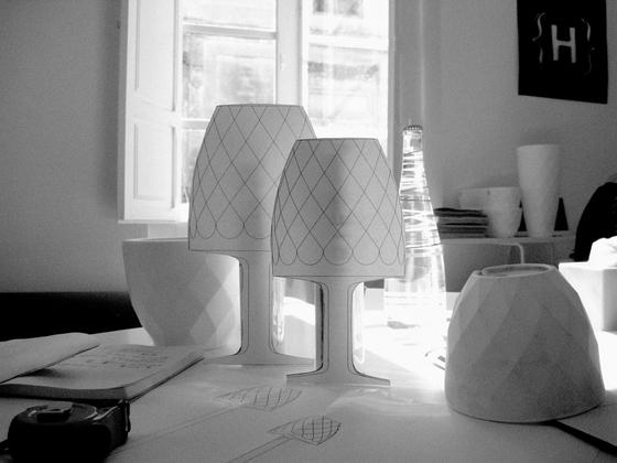 Vases lamp von Vondom