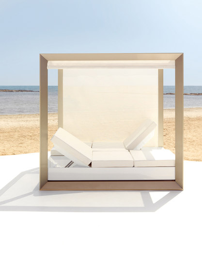 Vela sofa central unit XL von Vondom