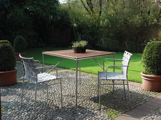 tagliatelle outdoor table 723 di Alias