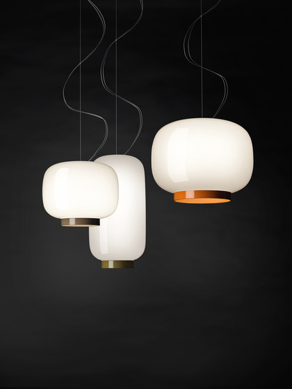 Chouchin 3 suspension de Foscarini