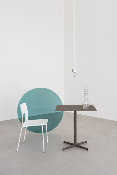 Kobe chair steel rod by Desalto