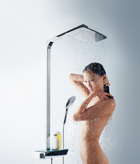 hansgrohe Ecostat Select Combi Set 0.65 m with Raindance Select E 120 3jet hand shower by Hansgrohe