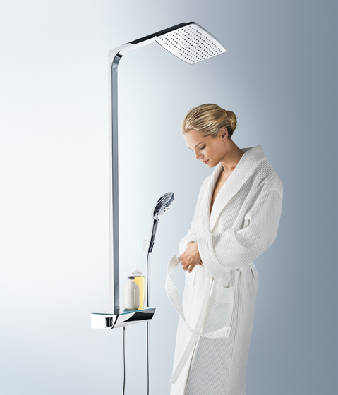 hansgrohe Raindance Select S 240 1jet Showerpipe for bath tub by Hansgrohe