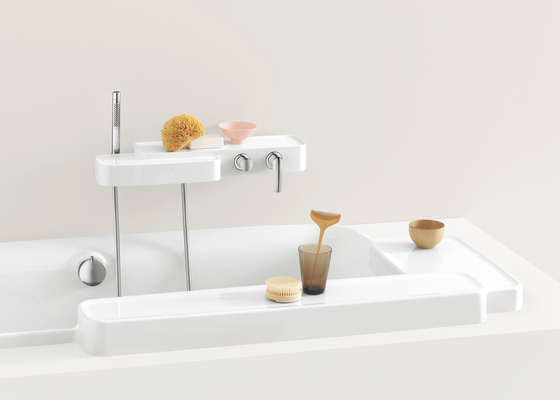 AXOR Bouroullec shelf by AXOR