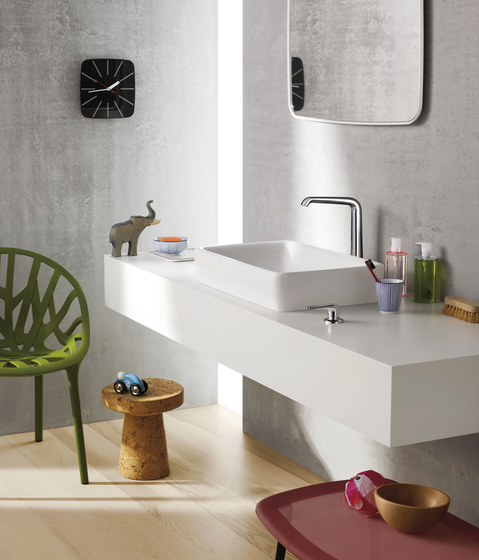 AXOR Bouroullec thermostatic mixer for concealed installation by AXOR